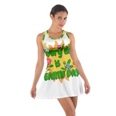 Earth Day Cotton Racerback Dress