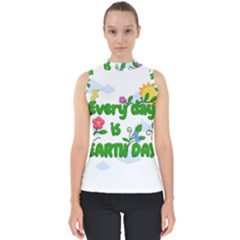 Earth Day Shell Top