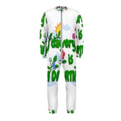 Earth Day Onepiece Jumpsuit (kids)