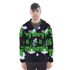 Earth Day Hooded Wind Breaker (men)