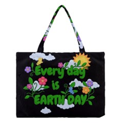 Earth Day Medium Tote Bag