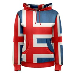 Iceland Flag Women s Pullover Hoodie
