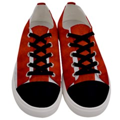 England Flag Men s Low Top Canvas Sneakers
