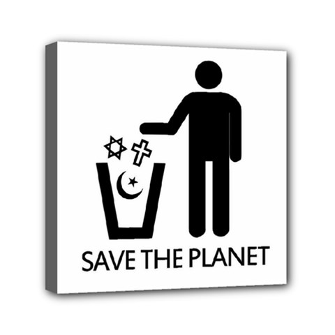 Save The Planet   Religions  Canvas Travel Bag