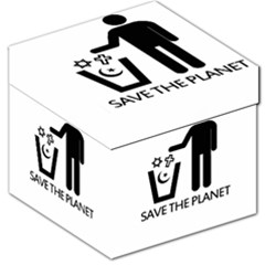 Save The Planet   Religions  Storage Stool 12
