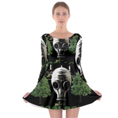 Ecology Long Sleeve Skater Dress