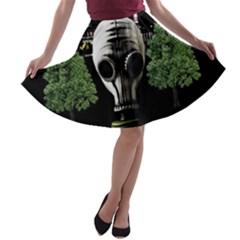 Ecology A Line Skater Skirt