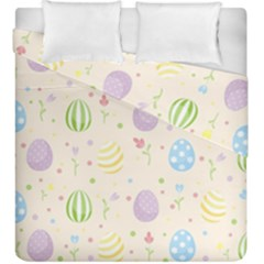 Easter Pattern Duvet Cover Double Side (king Size)