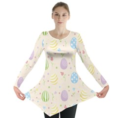 Easter Pattern Long Sleeve Tunic