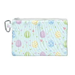 Easter Pattern Canvas Cosmetic Bag (large)