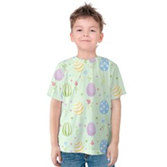 Easter Pattern Kids  Cotton Tee
