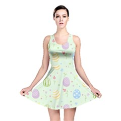 Easter Pattern Reversible Skater Dress
