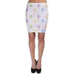 Easter Pattern Bodycon Skirt
