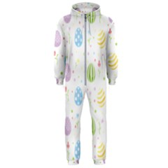 Easter Pattern Hooded Jumpsuit (men)
