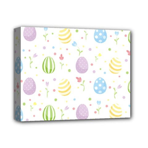 Easter Pattern Deluxe Canvas 14  X 11