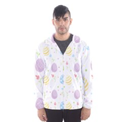 Easter Pattern Hooded Wind Breaker (men)