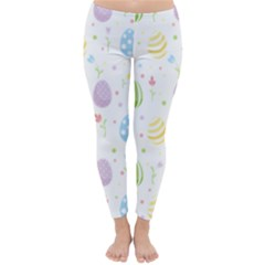 Easter Pattern Classic Winter Leggings