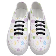 Easter Pattern Women s Classic Low Top Sneakers