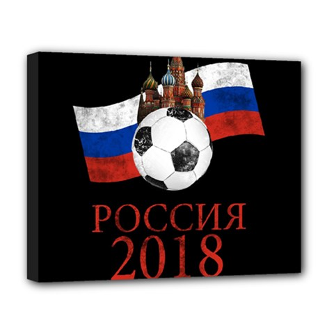 Russia Football World Cup Deluxe Canvas 20  X 16