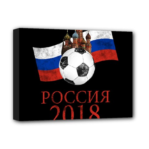 Russia Football World Cup Deluxe Canvas 16  X 12
