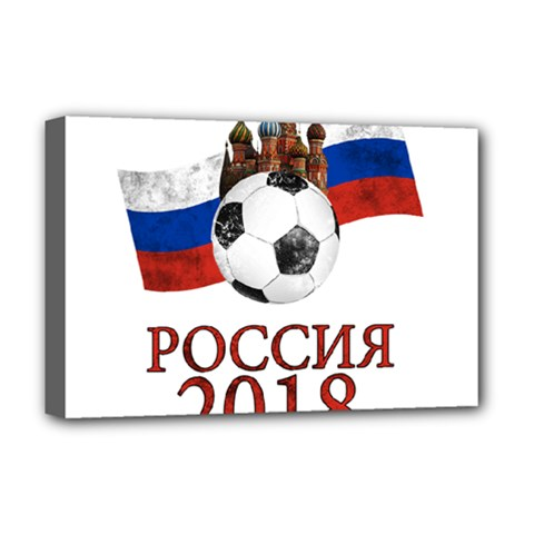 Russia Football World Cup Deluxe Canvas 18  X 12