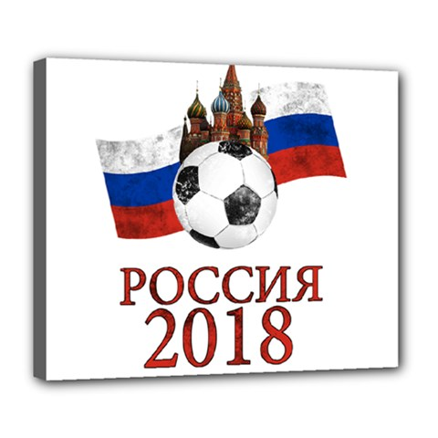 Russia Football World Cup Deluxe Canvas 24  X 20