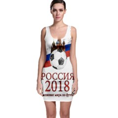 Russia Football World Cup Bodycon Dress