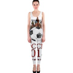 Russia Football World Cup One Piece Catsuit