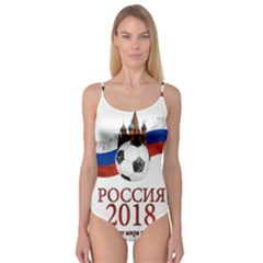 Russia Football World Cup Camisole Leotard