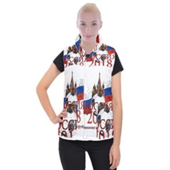 Russia Football World Cup Women s Button Up Vest