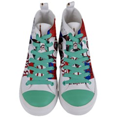 Russia Football World Cup Women s Mid Top Canvas Sneakers