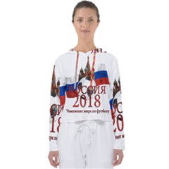Russia Football World Cup Women s Slouchy Sweat