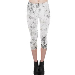 Grunge Pattern Capri Leggings