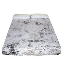 Grunge Pattern Fitted Sheet (king Size)