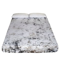 Grunge Pattern Fitted Sheet (california King Size)