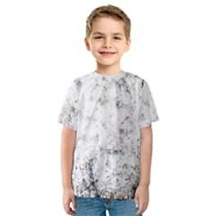Grunge Pattern Kids  Sport Mesh Tee