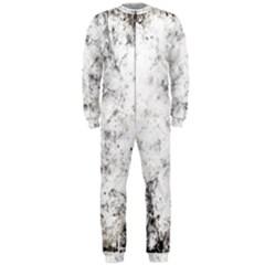 Grunge Pattern Onepiece Jumpsuit (men)