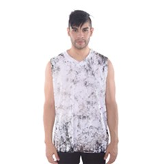 Grunge Pattern Men s Basketball Tank Top