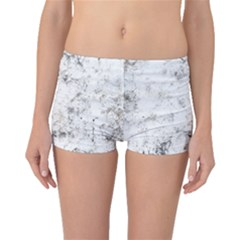 Grunge Pattern Boyleg Bikini Bottoms