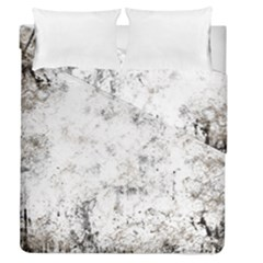 Grunge Pattern Duvet Cover Double Side (queen Size)