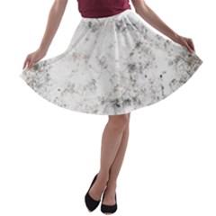 Grunge Pattern A Line Skater Skirt