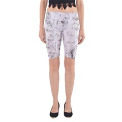 Grunge Pattern Yoga Cropped Leggings