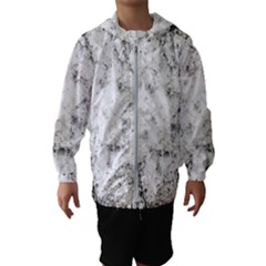 Grunge Pattern Hooded Wind Breaker (kids)