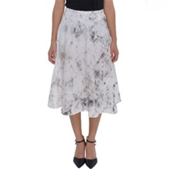 Grunge Pattern Perfect Length Midi Skirt