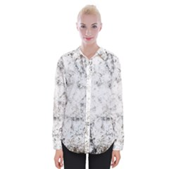 Grunge Pattern Womens Long Sleeve Shirt