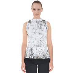 Grunge Pattern Shell Top