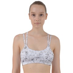 Grunge Pattern Line Them Up Sports Bra