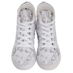Grunge Pattern Women s Hi Top Skate Sneakers