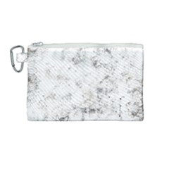 Grunge Pattern Canvas Cosmetic Bag (medium)