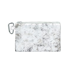 Grunge Pattern Canvas Cosmetic Bag (small)